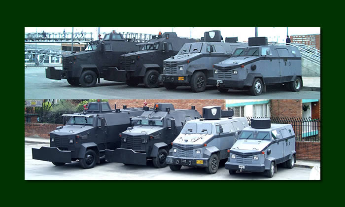 Military Police armored trucks jltv makes